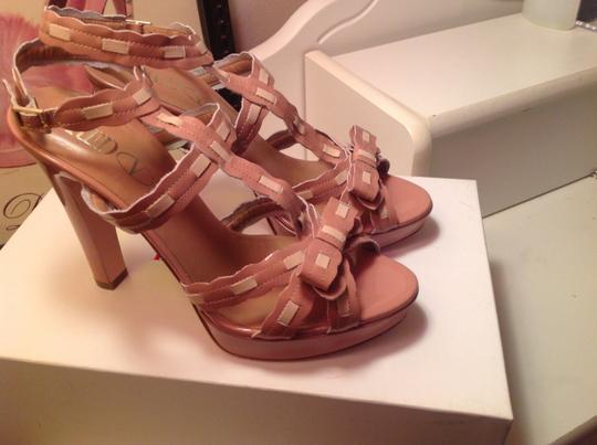 RED Valentino Nude Sandals