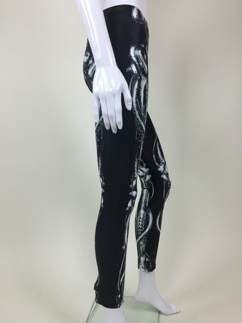 Other White Skeleton Bones Black Leggings