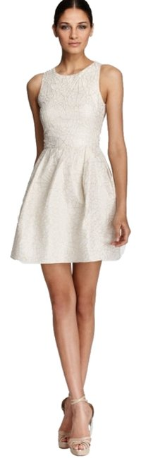 Erin Fetherston Fit And Flare Jacquard Floral Dress