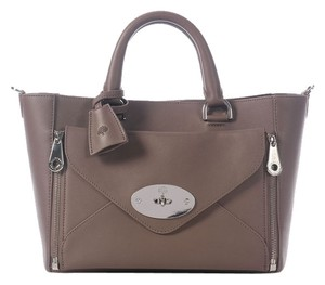 Mulberry Ml.j1026.03 Small Taupe Willow Tote