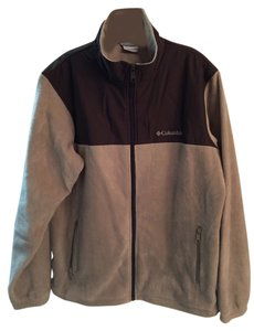Columbia New Men's Large Brown/Tan Jacket