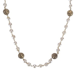 Chanel Chanel Gold Ball Pearl Necklace