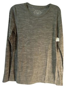 Dorothy Blue Sheer T Shirt gray