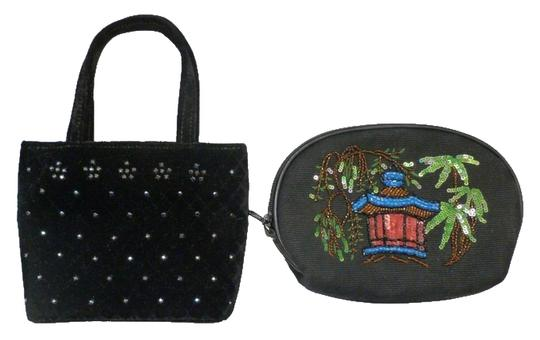 Preload https://img-static.tradesy.com/item/9267649/isabella-fiore-blackmulti-c-set-of-velvet-small-purse-mini-cosmetic-bag-0-7-540-540.jpg