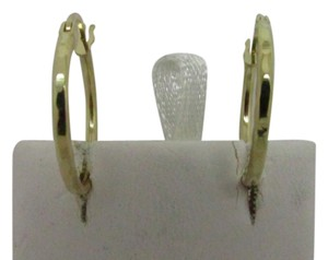 Other 14K Solid Yellow Gold Hoop Earring