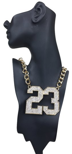 Preload https://item2.tradesy.com/images/gold-23-necklace-926851-0-0.jpg?width=440&height=440