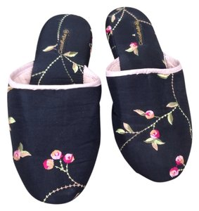 CicciaBella Black embroidery Sandals