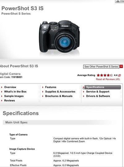 Canon Canon Powershot Includes Camera Case, Memory Reader And Card Image 1