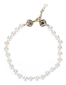 Chanel Chanel Vintage Gold Pearl Necklace