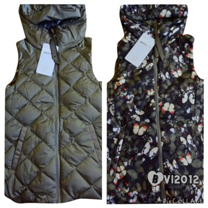 Lululemon Lululemon The Fluffiest Vest Hoodie Size 2 Reversible Butterfly