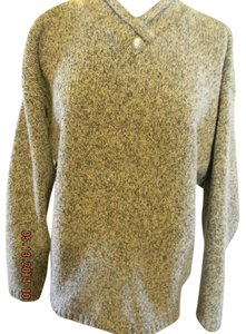Christopher & Banks Tweed Look V-neck Casual Wear Career Wear Sweater
