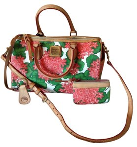 Dooney & Bourke Satchel in Red floral