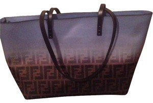 Fendi Tote in Brown and blue