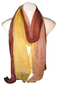 Other Light weight Sheer Multi-Color Tan Brown Yellow Solid #103 Pashmina Shawl Scarf Stole Cashmere/Silk Risdarling