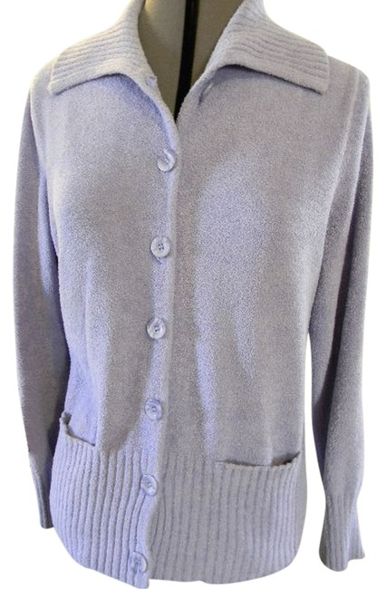 Preload https://item5.tradesy.com/images/lavender-sweater-super-soft-pockets-womens-long-sleeves-big-front-buttons-cardigan-size-8-m-927524-0-0.jpg?width=400&height=650