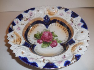 Antique Porcelain Victorian Bowl