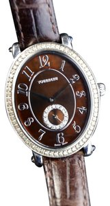 Tourneau * Tourneau Vintage Diamond Ladies Watch 34004-A-Br