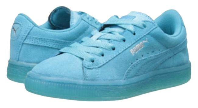 Item - Blue Turqouise Old School Suede Atoll Sneakers Size US 8 Regular (M, B)
