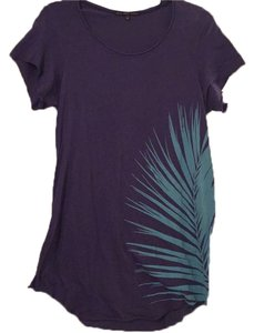 Urban Outfitters T Shirt Purple & blue