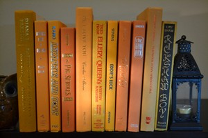 Vintage Style Books - Yellow 101 - Set Of 10