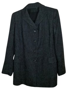 Prada Wool Jacket Gray Blazer