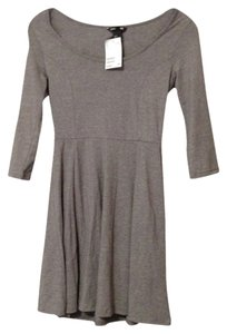 H&M short dress Gray on Tradesy