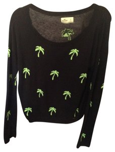Hollister Palm Trees Socal Cali Sweater