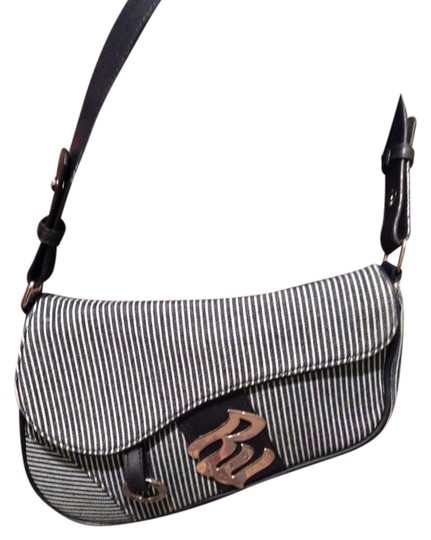 Preload https://item1.tradesy.com/images/rocawear-satchel-clutch-tote-navywhite-pinstripe-shoulder-bag-927880-0-0.jpg?width=440&height=440