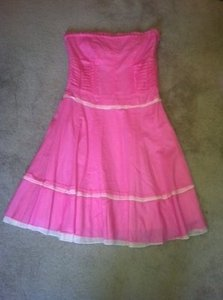 Cynthia Steffe short dress Hot Pink on Tradesy