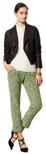 Anthropologie Capri/Cropped Pants Green