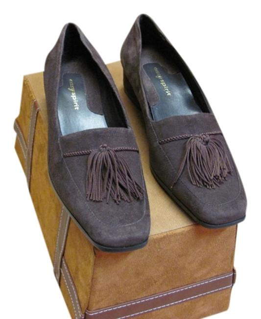 Item - Brown Suede Leather New Excellent Condition M Pumps Size US 7.5 Regular (M, B)