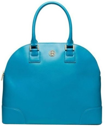 Preload https://item5.tradesy.com/images/tory-burch-robinson-dome-electric-eel-leather-satchel-928019-0-0.jpg?width=440&height=440