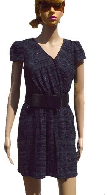 Preload https://item1.tradesy.com/images/milly-navy-above-knee-workoffice-dress-size-0-xs-928055-0-0.jpg?width=400&height=650