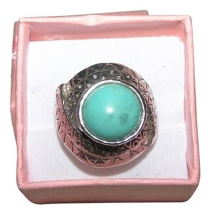 Other Turquoise Diamante Sparkle Ring Free Shipping