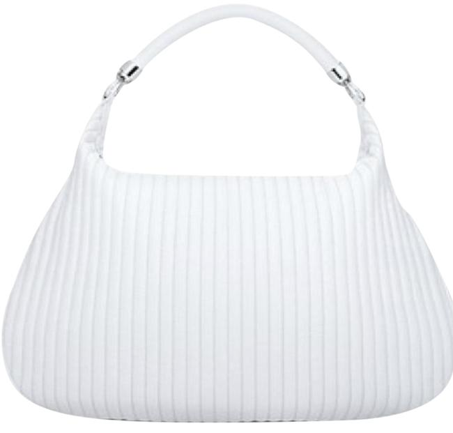 Item - Marlow Handbag Made In Italy. Cream/White (Winter White) Leather Satchel