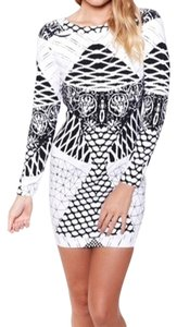 Tiger Mist Monochrome Dress