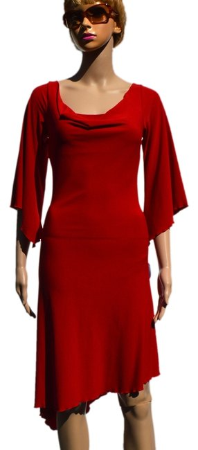Preload https://img-static.tradesy.com/item/928209/prada-red-knee-length-night-out-dress-size-8-m-0-0-650-650.jpg