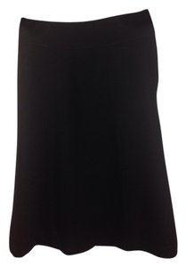 H&M Knee Lenght Work Skirt Black