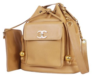 Chanel Cc Balls Large Shoulder Bag