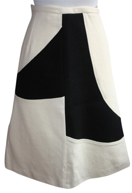 Piazza Sempione New With Tags Made In Italy And Black Skirt Cream