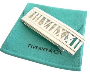 Tiffany & Co. Authentic Tiffany & Co Sterling Silver Atlas Money Clip. VERY RARE.