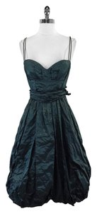 Nicole Miller short dress Green Spaghetti Strap on Tradesy