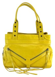 Botkier Yellow Leather Shoulder Bag