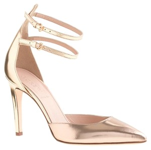 J.Crew J. Crew Gold Patent Leather Sandals