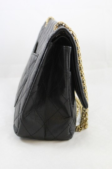 Chanel Quilted Double Flap Tote in Black