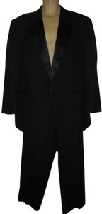 Black Formal Pants Jacket Suit Tuxedo