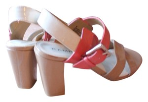 Rampage TAN/CORAL Sandals