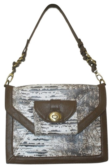 Olivia + Joy Clutch Snakeskin Shoulder Bag