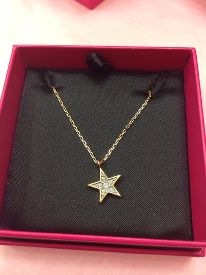 Juicy Couture JUICY COUTURE PAVE STAR WISH NECKLACE YJRU7942NWT