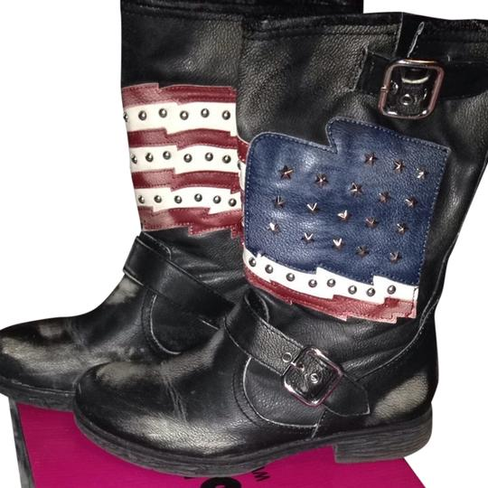 Preload https://img-static.tradesy.com/item/928859/black-red-white-blue-american-flag-bootsbooties-size-us-65-regular-m-b-0-0-540-540.jpg